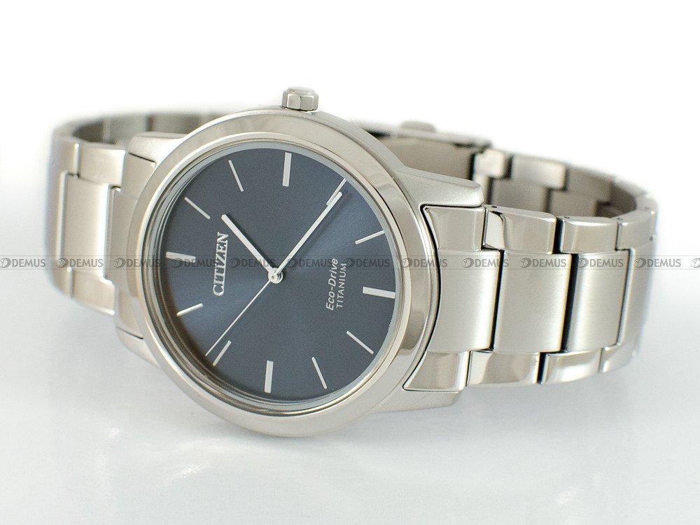 zegarek męski citizen eco drive titanium